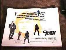 CISCO PIKE 22X28 MOVIE POSTER '71 GENE HACKMAN