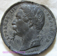 MED10432 - MEDAILLE NAPOLEON III - ANNEXION DE LA SAVOIE & DE NICE 1860