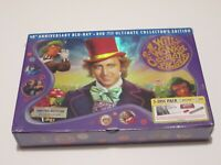 Willy Wonka & the Chocolate Factory Blu-Ray+DVD Ultimate Collectors Edition OOP