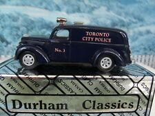 1/43 Durham classics Ford 1939 Paddy wagon Toronto city police 1 of 350