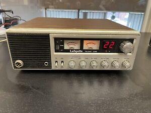 Vintage LAFAYETTE TELSAT 1240 CB Radio Base Station 40 Channel