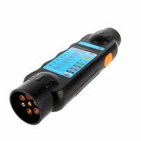 12V Car Trailer Light Plug Socket Tester For 7 Pins Plug And Socket Conn hot