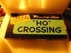 Atlas HO Model Railroad Crossing ~ Vintage Brass 60 Degree #60C ~ Custom Line