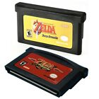 Legend of Zelda The Minish Cap/Four Swords Game Card Nintendo Game Boy Advance