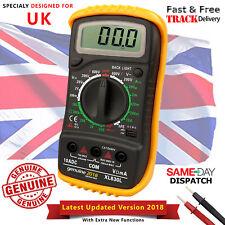 LCD Digital Multimeter Voltmeter AC & DC Voltage Tester Circuit Checker Buzzer