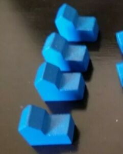 Blue SETTLERS OF CATAN Replacement Cities 3061 ONE PIECE
