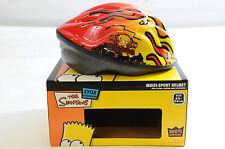 Simpson'S 52cm-56cm Casco per BMX, qualsiasi bici, in linea pattini, Scooter a basso prezzo