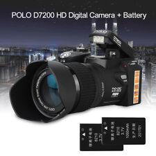 POLO D7200 1080P DSLR Digital Camcorder 24X Zoom+Sportlight  Led+3.7V Battery 2x