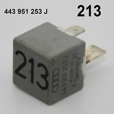 Orig. AUDI A4 80 VW Golf Relais Nr. 213 443951253J 12V 60A Entlastung X-Kontakt