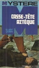 ELLERY QUEEN CASSE-TETE AZTEQUE