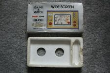 NINTENDO GAME & WATCH SNOOPY TENNIS EMPTY BOX AND POLY TRAY INNER