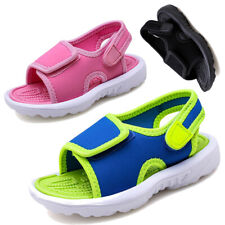 TODDLER KIDS CLOSED TOE OUTDOOR SPORTS SANDALS SUMMER CASUAL BEACH WALKING SHOES