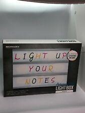 Merkury Innovations personal led light box white letter pack multicolor