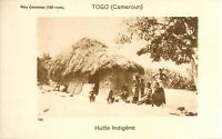 House Hutte Village Togo Cameroun Afrique Africa Colonie France IMAGE CARD 1900s