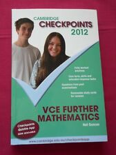 Cambridge Checkpoints VCE Further Mathematics by Neil Duncan