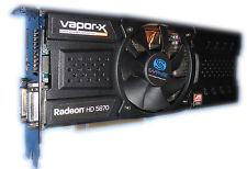 Tarjeta de vídeo Radeon HD 5870 vapor-X Sapphire 1gb PCIe para PC/Mac Pro 1.1/5.1 #80
