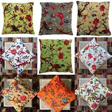 New Indian Style Handmade Cotton Kantha Home Decor Pillow Cushion Cover Sofa