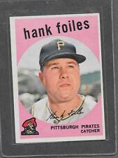 1959 Topps Baseball #294 Hank Foiles EX-MT *6972
