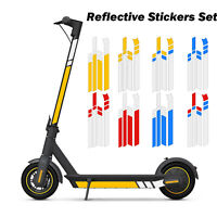 Waterproof Reflective Stickers Decal for Xiaomi MaxG30 Ninebot Electric Scooter