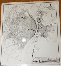Map Plat of St.Louis and East St. Louis with Railway System of the Terminal R.R.