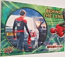 Spider-Man 2019 Upper Deck Marvel Far From Home Behind the Lens #BTL-10