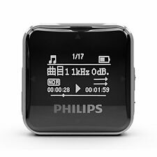 Philips SA2208 Black Digital MP3 player 8GB
