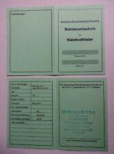 Blanko ALU Typenschild Simson S 51//1  SIMME S51//1  ALUschild im DDR Stil