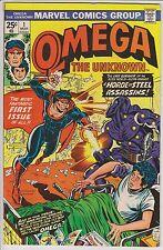 Omega #1 Vf (March 1975) Marvel