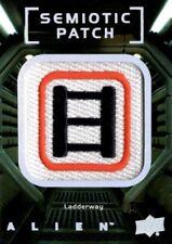 Alien Movie, Upper Deck, Semiotic Standards Patch Card, SP28 Ladderway