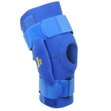 Lonsdale Knee Brace Support con Bisagras Estabilizador Workout Gym Azul Talla R761-1