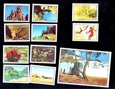 Tassili N'Ajjer Africa Sahara Algeria Nestle 1955 Card Set Tamrit Painting