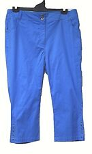 plus sz XS / 14 VIRTU TS TAKING SHAPE Brooke's Crop Pant stretch cotton NWT!