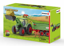 Schleich® 42379 Traktor mit Anhänger - NEU / OVP