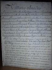 Lettera autografo di Vittorio Amedeo III di Savoia - Torino 17/6/1794