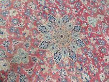 More details for a classy old handmade traditional oriental carpet (350 x 210 cm)