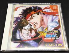CAPOM Vs SNK Millennium Fight 2000 Japanese Sega Dreamcast  *USA Seller*