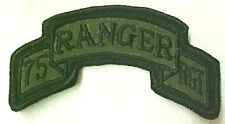 75th Ranger RGT US Army Military ACU Insignia Patch