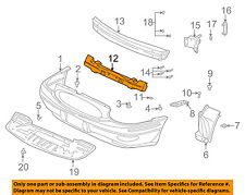 Buick GM OEM 00-05 LeSabre Bumper Face-Foam Impact Absorber Bar 25649528