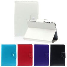 """Universal Crystal PU Leather Case Stand Cover For 10.1"""" Android Tablet Samsung &"""