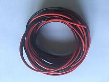 fils double 2X0,75mm² rouge/noir souple haut-parleur, électrique, lampe 3 ML