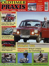 Oldtimer Praxis 2010 5/10 VW T2 Pritsche Framo 901/2 Volvo 164 Suzuki Cappuccino