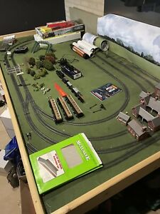 OO Gauge model Railway Layout Dcc controller Hornby train set layout  Not Fixed