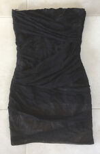 Ladies TOP SHOP Black Dress Size 10