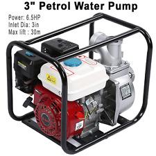 New 3 65 Hp Gas Water Semi Trash Pump Petrol High Pressure Garden Irrigation