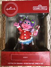 2020 Hallmark Red Box Christmas Tree Ornament Sesame Street Abby - New