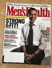 PRESIDENT Barack OBAMA - 20th ANNIVERSARY Collector Edition Mens Health magazine