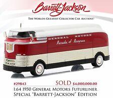 1:64 Greenlight *HOBBY EXCLUSIVE* 1950 General Motors FUTURLINER BARRETT JACKSON