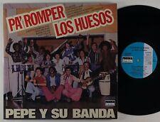 "Pepe Y Su Banda ""Pa' Romper Los Huesos"" Latin Salsa LP Orion Reissue"