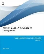 Construction Kit: Adobe ColdFusion 9 Web Application Construction Vol. 1, Set by