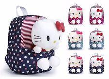 NEW 3D Hello Kitty Backpack For Girls Cute cartoon bag kindergarden Travel bag